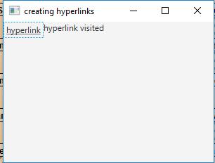 JavaFX | Hyperlink Class - GeeksforGeeks