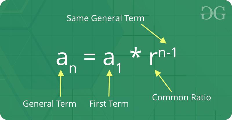 sum of geometric progression pdf