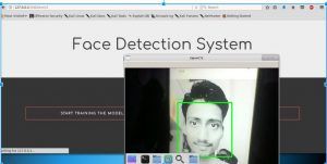Face Detection using Python and OpenCV with webcam