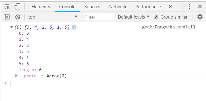 Underscore js | sortBy() with Examples - GeeksforGeeks