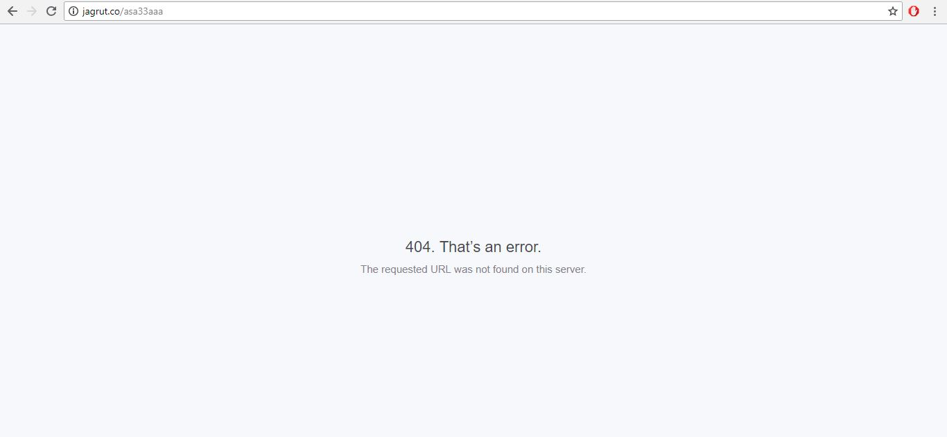 Python | 404 Error handling in Flask - GeeksforGeeks