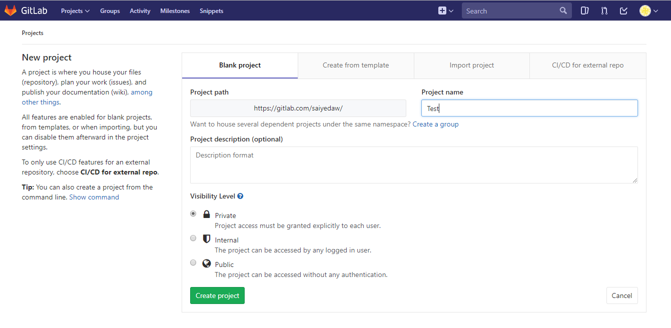 how to download a file from gitlab