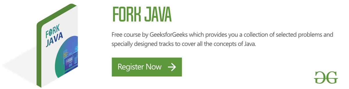 java programming language geeksforgeeks