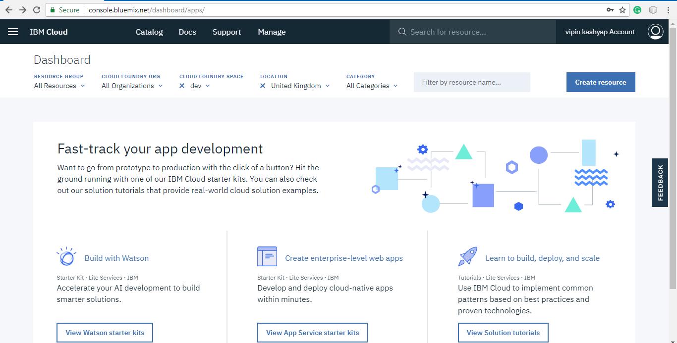 How to host a website on IBM Cloud - GeeksforGeeks