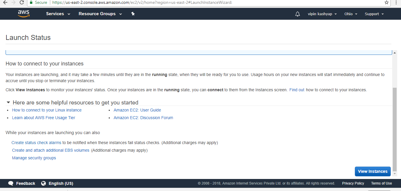 AWS EC2 Instance Setup with Apache Server - GeeksforGeeks