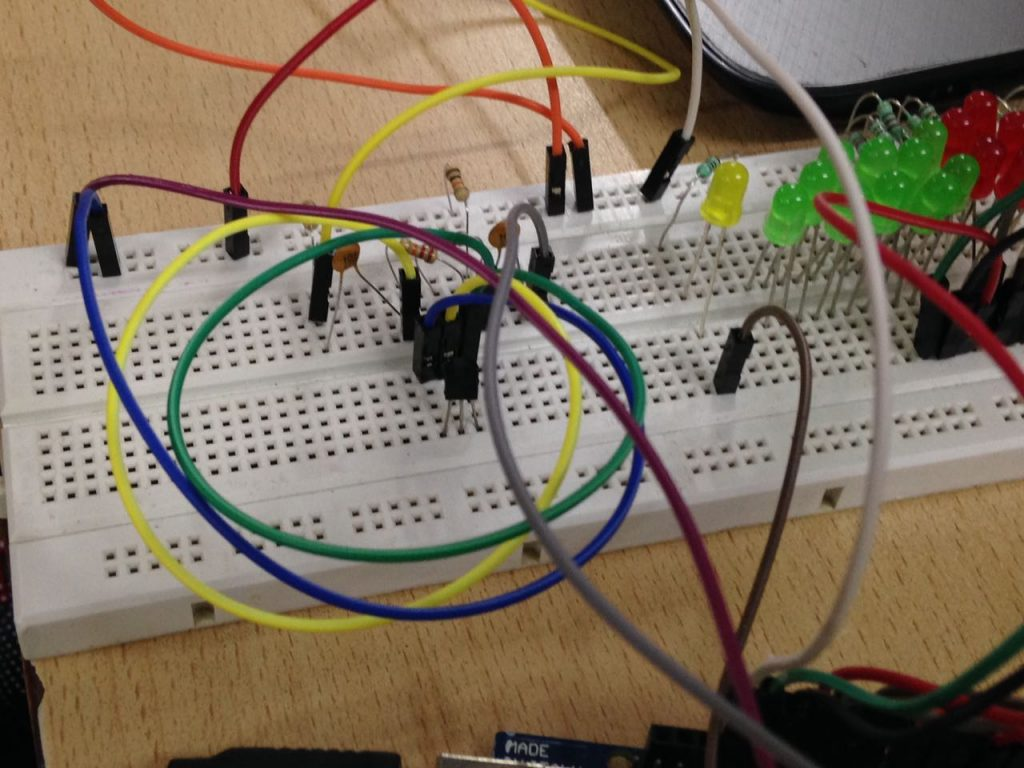 Project Idea Baby Monitoring Smart Cradle Geeksforgeeks Cell Phone Detector Circuit On Breadboard Youtube Images