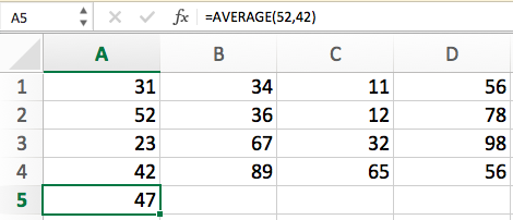 Excel VBA   Average() Functions - GeeksforGeeks