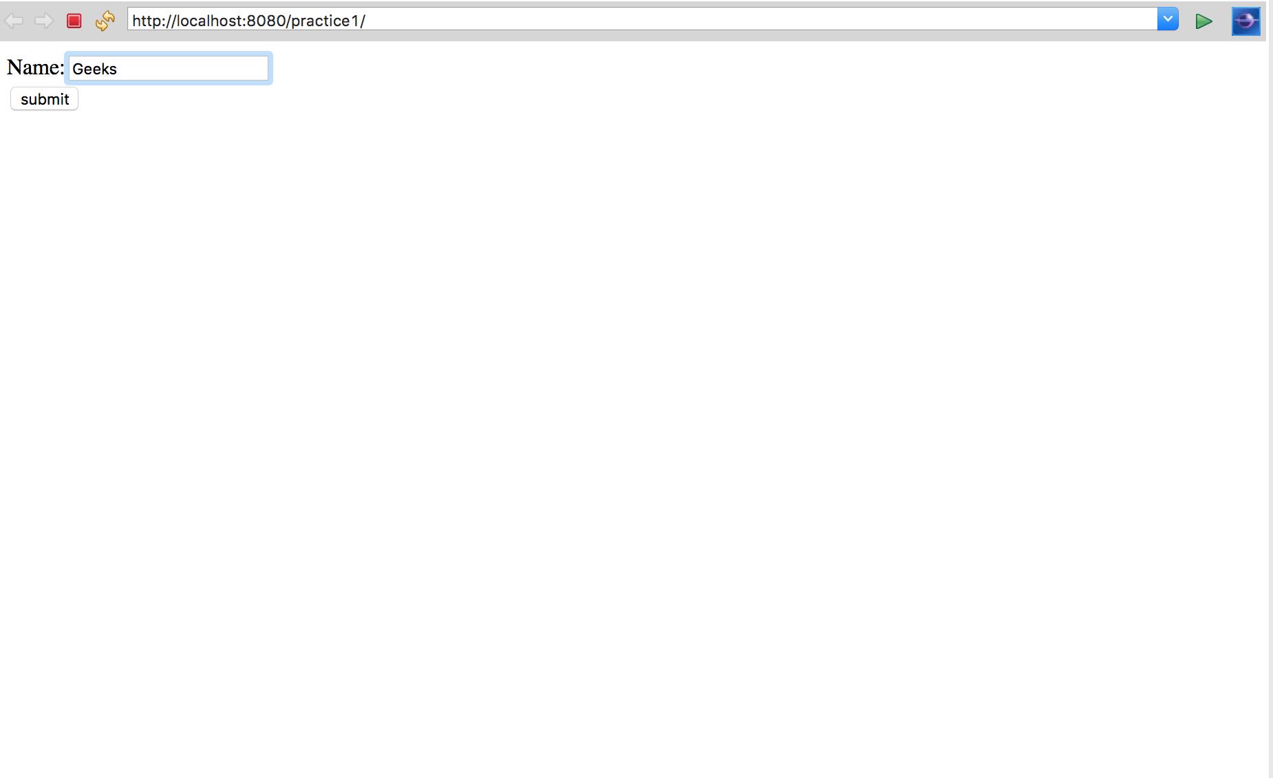 URL Rewriting using Java Servlet - GeeksforGeeks