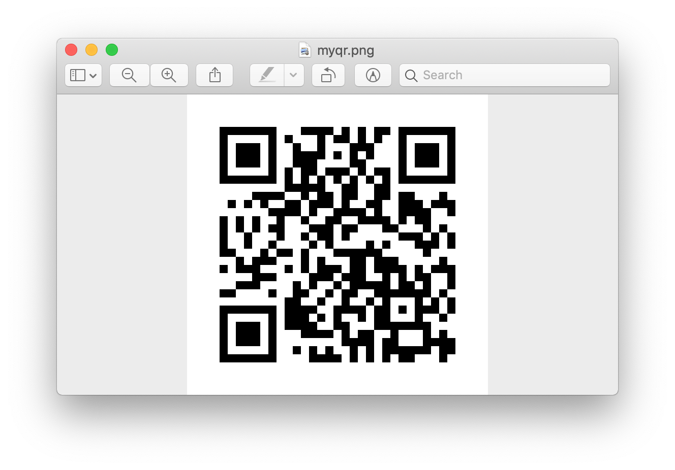 Python | Generate QR Code using pyqrcode module - GeeksforGeeks