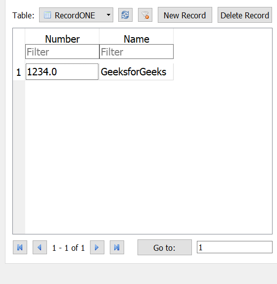 Inserting variables to database table using Python - GeeksforGeeks
