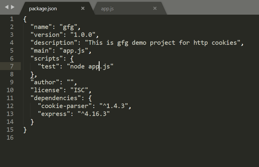 HTTP Cookies in Node js - GeeksforGeeks