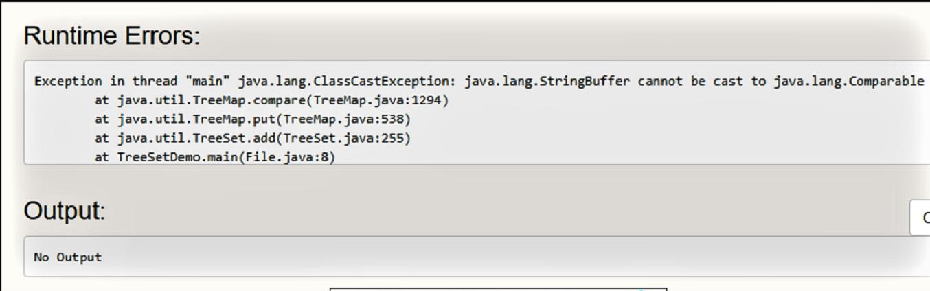 TreeSet in Java - GeeksforGeeks