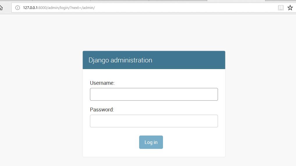 Python   Django Admin Interface - GeeksforGeeks