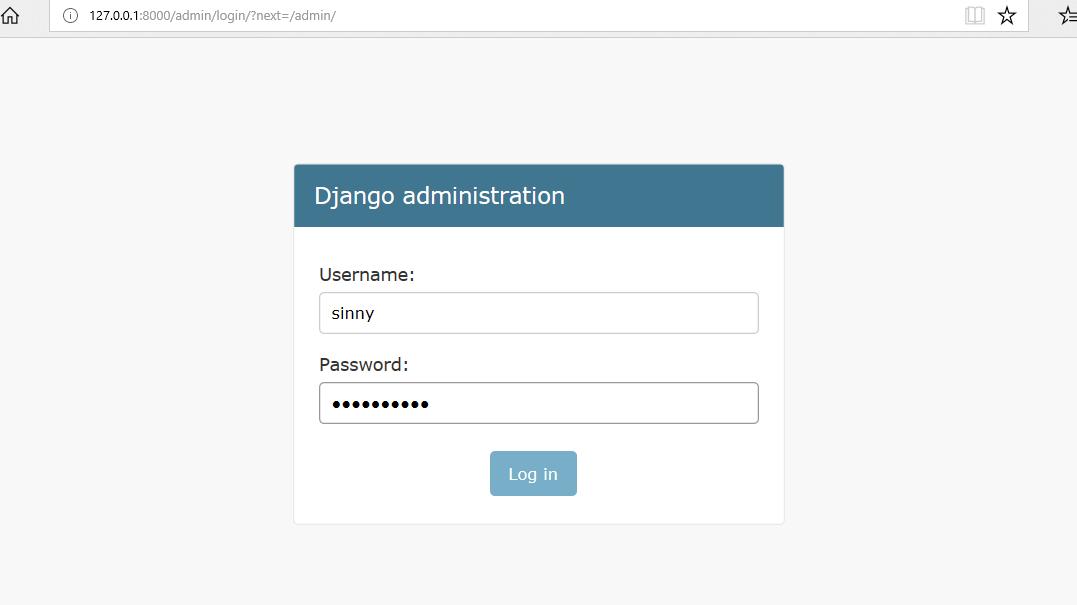 Python | Django Admin Interface - GeeksforGeeks