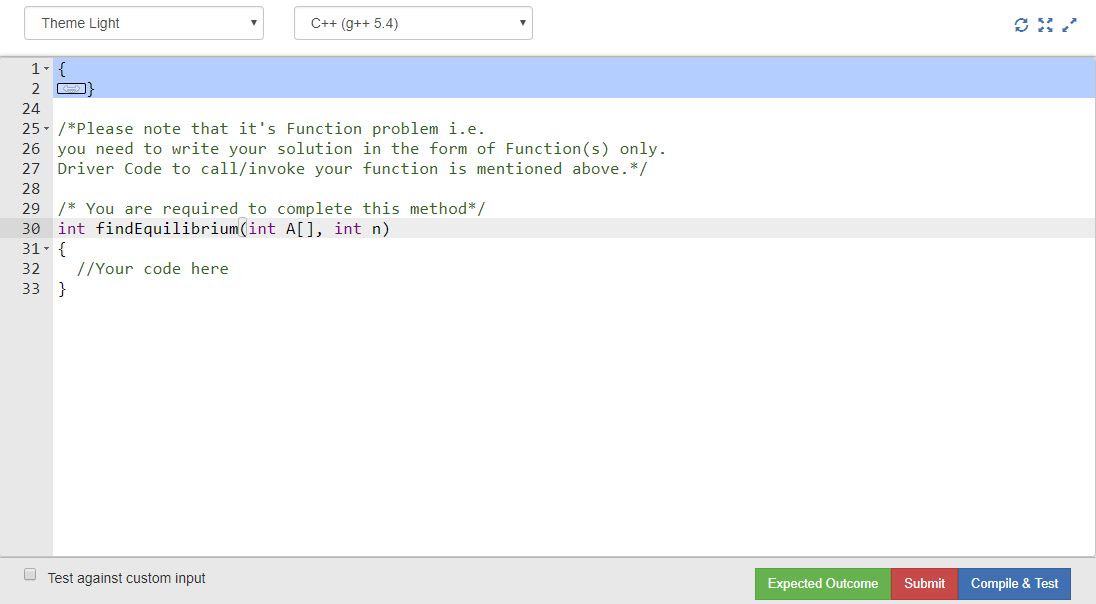 How to attempt Function Coding Questions? - GeeksforGeeks