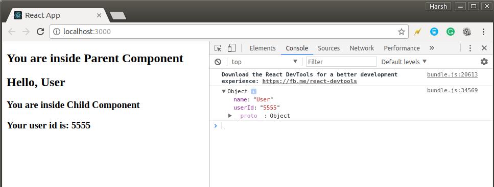 ReactJS   Props - Set 1 - GeeksforGeeks