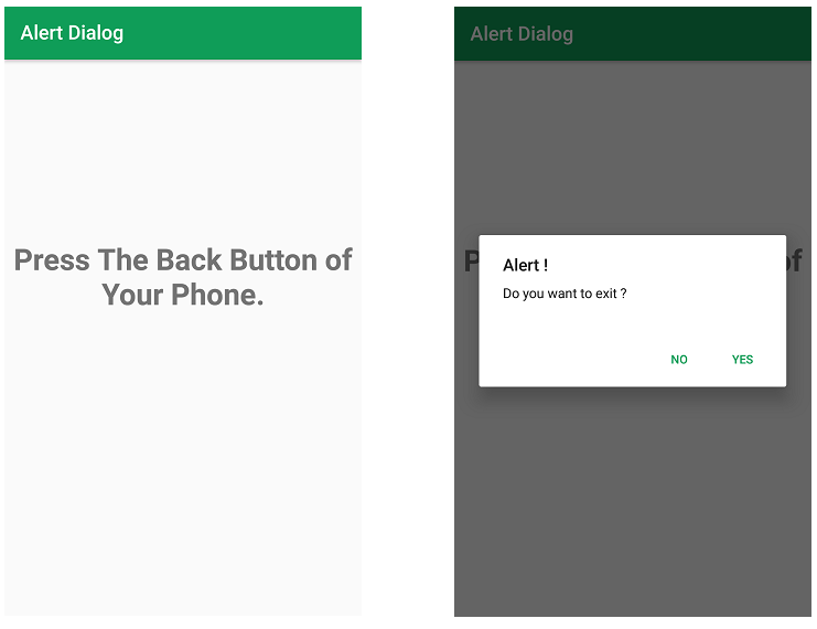 Android | Alert Dialog Box and How to create it - GeeksforGeeks