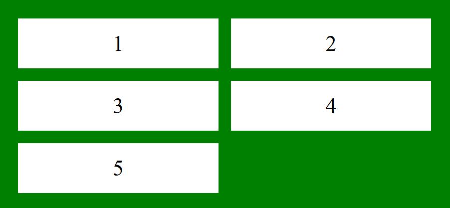 grid-auto-columns  ช้เพื่อระบุขนาดสำหรับคอลัมน์ของคอนเทนเนอร์กริด