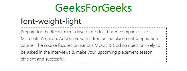 bootstrap-font-weight-light