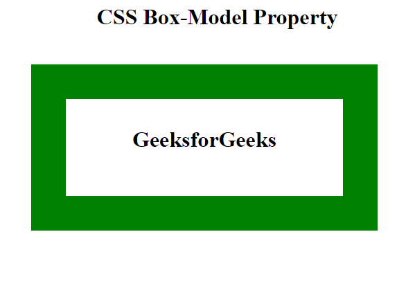 css box model property