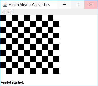 java applet program to draw a smiley face