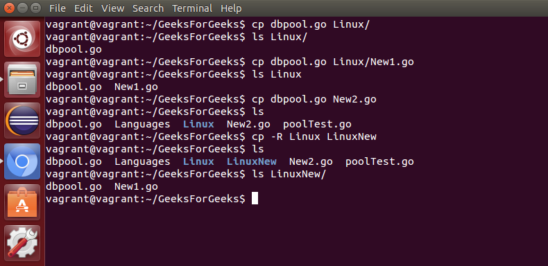 Basic Shell Commands in Linux - GeeksforGeeks
