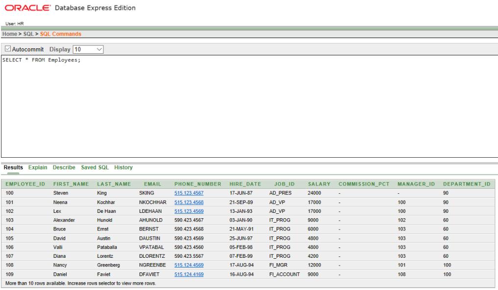SQL | ON Clause - GeeksforGeeks