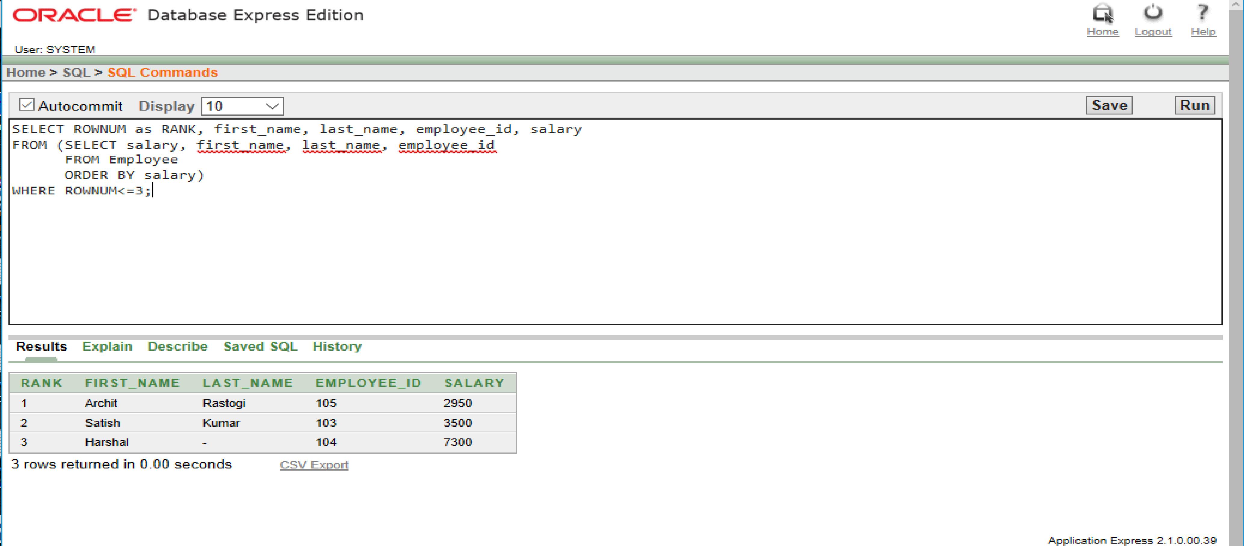 SQL | Top-N Queries - GeeksforGeeks