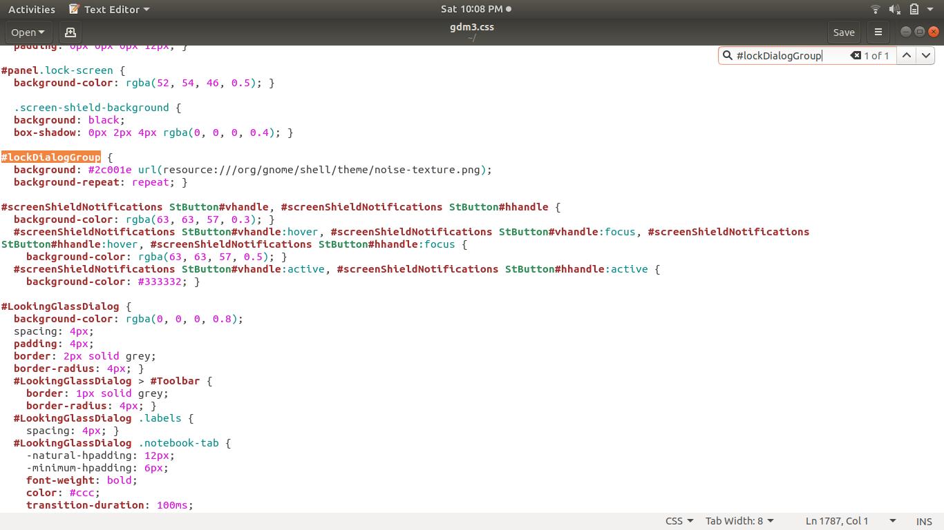 How to change login screen background in Ubuntu - GeeksforGeeks