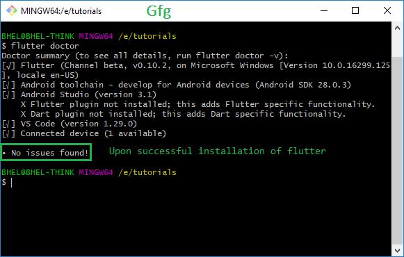 Getting Started with Cross-Platform Mobile Application using Flutter