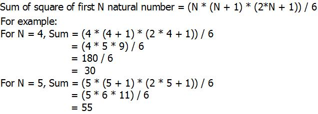 Python Program for Sum of squares of first n natural numbers