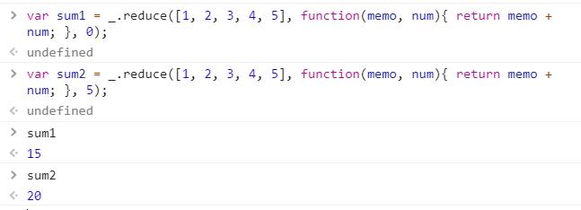 Javascript | _ reduce() with Examples - GeeksforGeeks