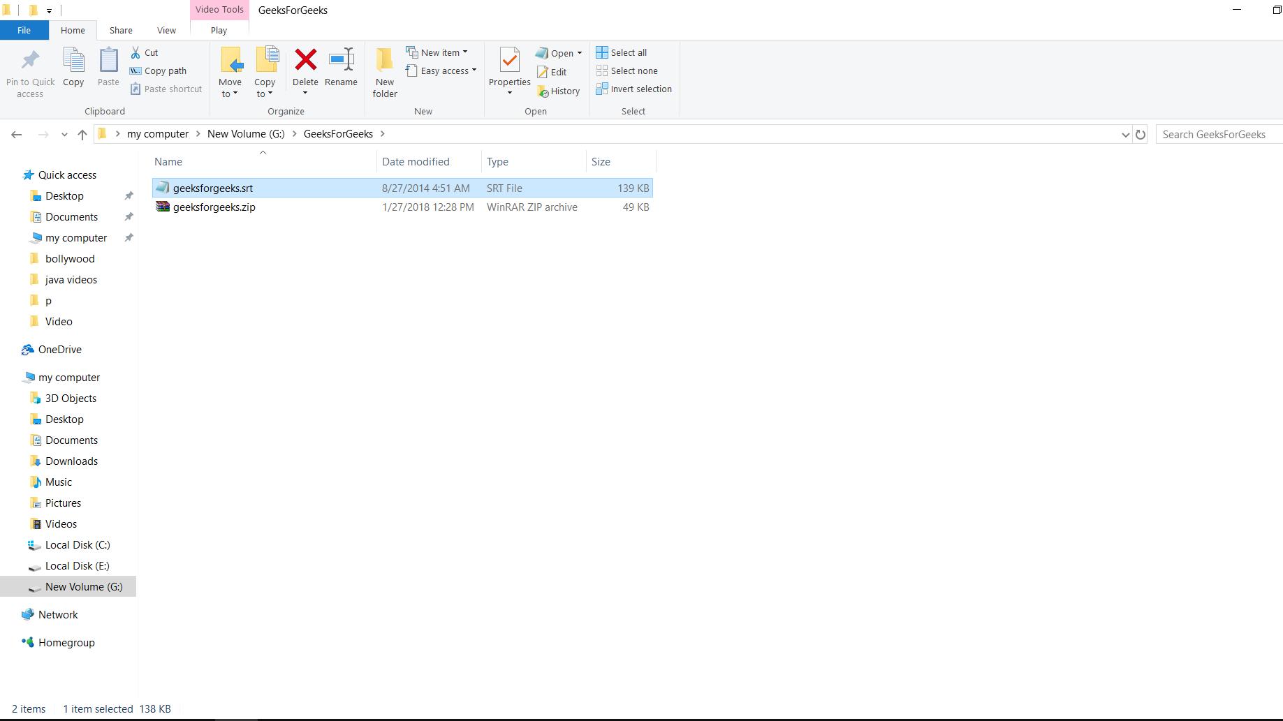 Zip files in Windows - GeeksforGeeks