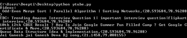 Youtube Data API | Set-1 - GeeksforGeeks