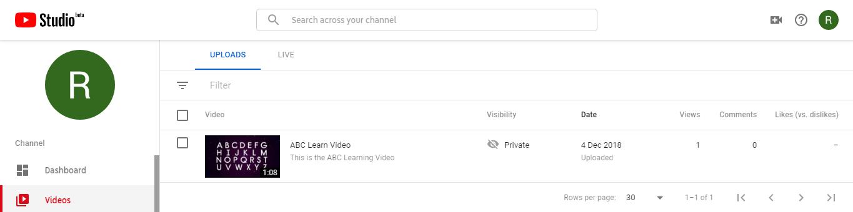 Youtube Data API for handling videos | Set-4 - GeeksforGeeks