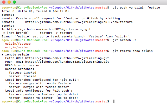 git checkout branch from remote
