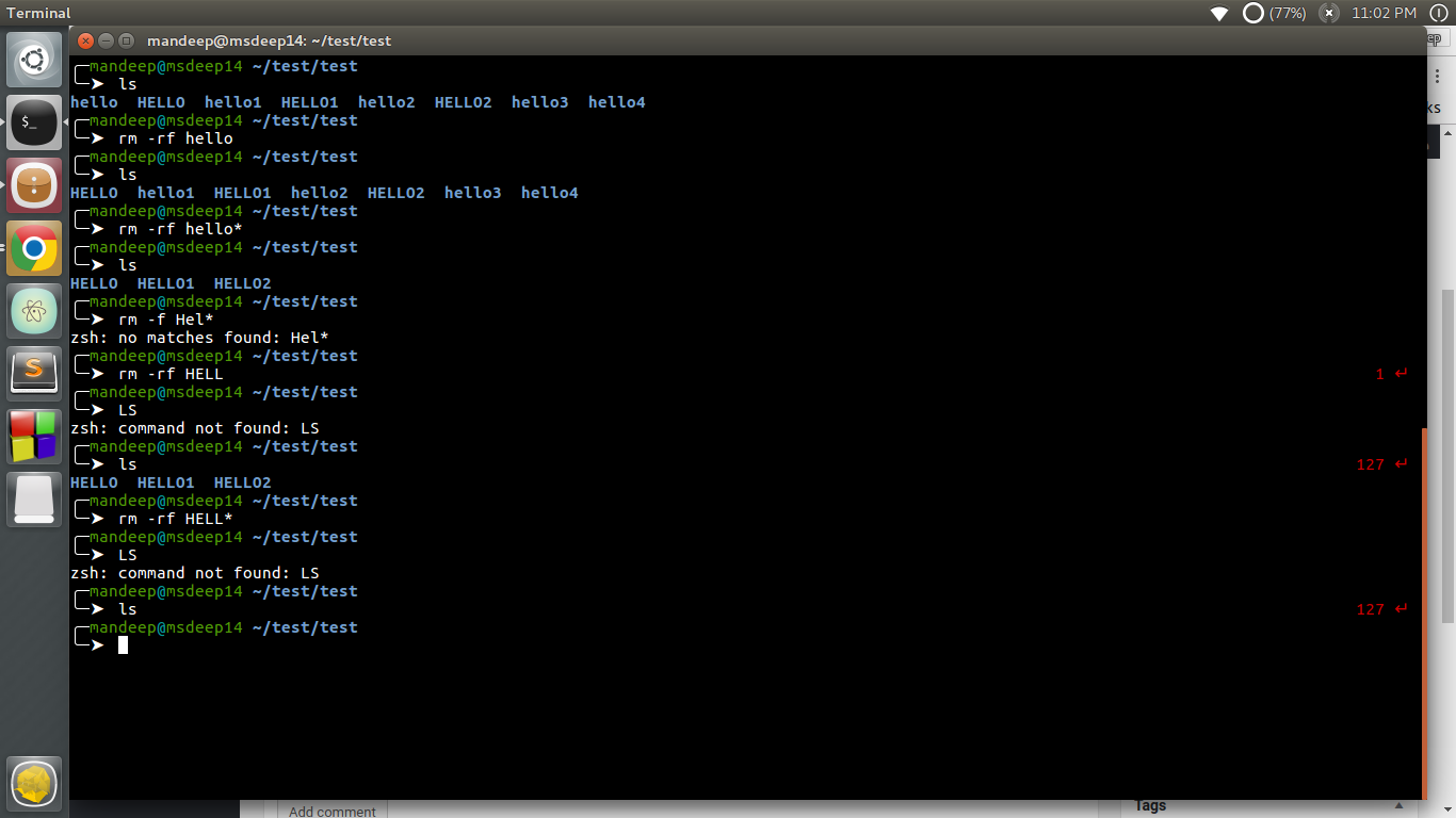 File globbing in Linux - GeeksforGeeks