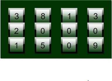 minimum rotations to unlock a circular lock geeksforgeeks