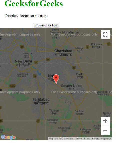 geolocation map