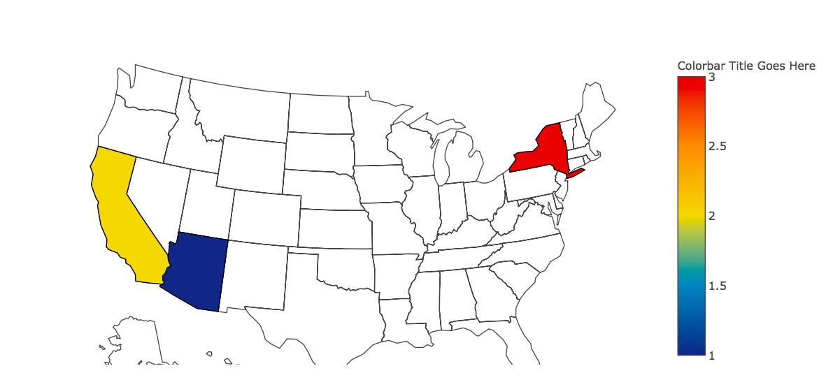 Python | Geographical plotting using plotly - GeeksforGeeks