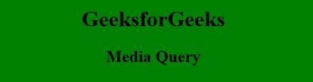 How to target desktop, tablet and mobile using Media Query