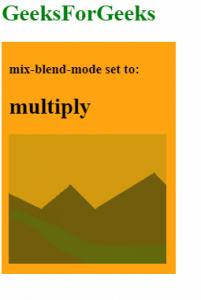 mix-blend-mode: multiply