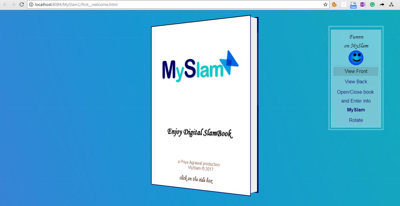 Project Idea | MySlam - GeeksforGeeks