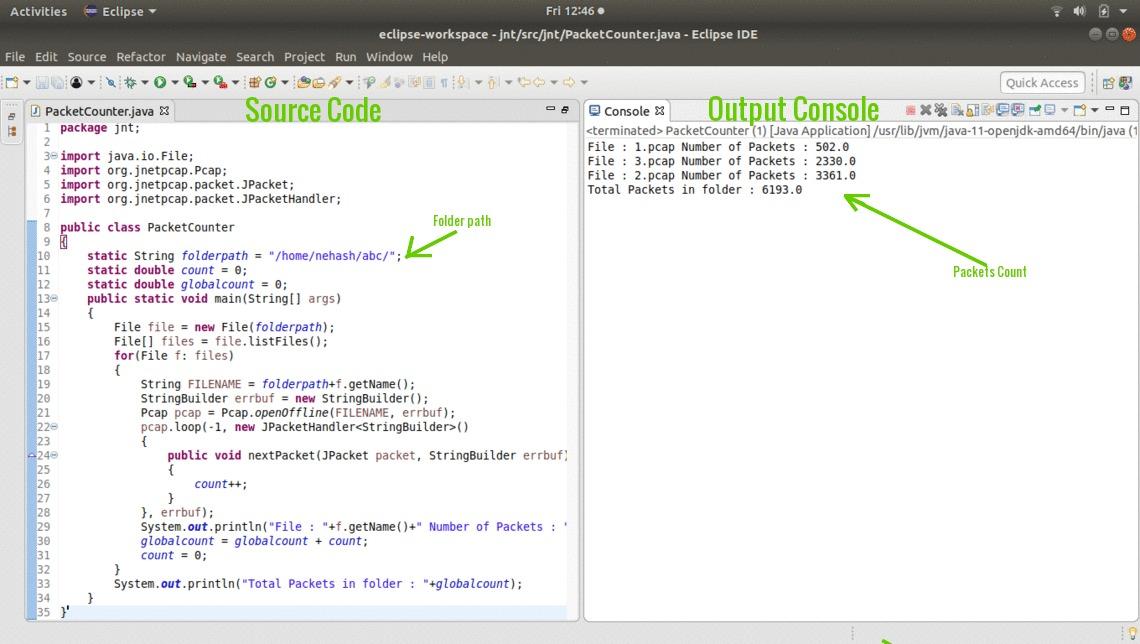 Packet Capturing using JnetPcap in Java - GeeksforGeeks